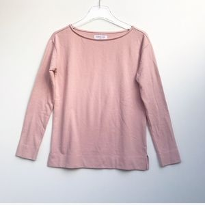 Everlane French Terry Blush Sweatshirt Size XS